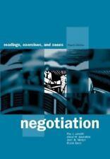 Negotiation: Readings, Exercises, and Cases Lewicki, Roy J, Saunders, David M,