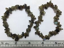 Labradorite Stone Chip Bracelets 2 Bracelets Only $7.95 and Free Shipping in USA