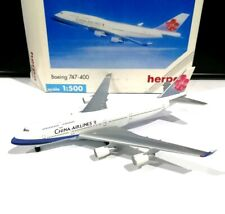 Herpa 500883 China Airlines Boeing 747-400 1/500 scale model air plane flugzeug