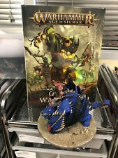 Warhammer 40k AoS ORRUK BRUTE ARMY WELL PAINTED with Battletome (K9 17)