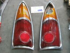 Ford Zodiac MK3 Rear Tail Light Unit Lens + Base Butlers SAE ST 61 1961 RH + LH