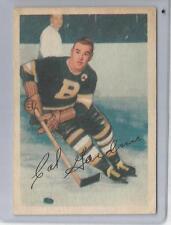 """1953-54 Parkhurst Hockey Cal Gardner Card # 99 Vg-Ex Condition """"A"""""""