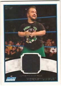 HORNSWOGGLE - WWE 2012 - AUTHENTIC SHIRT RELIC CARD - TOPPS 2012