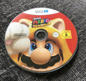 Super Mario 3D World Nintendo Wii U Game Disc Only Good Condition