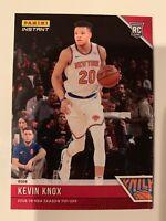 2018-19 Panini NBA Season Tip-Off Kevin Knox Rookie RC New York Knicks /330 READ