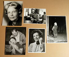 HILDE KRAHL * 5 PRESSEFOTOS - PHOTOS  PRESS VINTAGE THEATER FILM KINO1950/60er