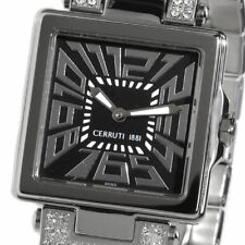 CERRUTI LADIES C IMPERO DONNA SWISS SWAROVSKI CRYSTALS WATCH NEW CT64982X403011