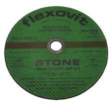 5 X STONE CUT OFF DISCS 203 X 3.2  X 22.2