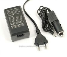 EU Plug BATTERY CAR CHARGER FOR CANON NB-5L IXUS 980 SX210 SX220 SD970 IS CB-2LX