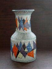 Studio Ceramic Vase Italy Design Bonaccorso Caltagirone? 60er 70er Mid Century
