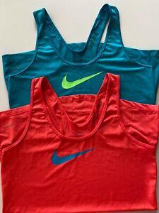 Nike Pro Dri-fit Tank Tops Women's Size M (Lot of 2)