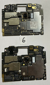 Lot Of 2 Motorola Moto e5 plus M3572 Motherboard Clean ESN Google Locked READ