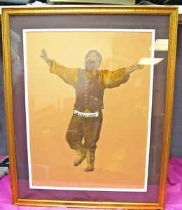 Tevye by Tammerin Fiddler on the Roof  S/N 28/250 Judaica A1046