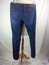 Lucky Brand Lola Skinny Blue Denim Jeans Cotton Spandex 10 / 30 34 x 32