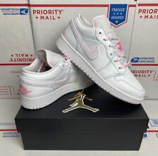 Air Jordan 1 Low GS Aurora Pink 554723-101 | SneakerNews.com