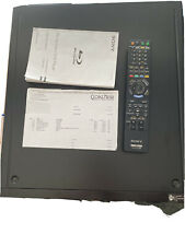 Sony BDP-CX7000ES Blu-ray Player with Remote, Manual and Service Record.