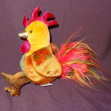 "Rooster Zodiac 2000 Ty  Plush Stuffed Animal 6"""