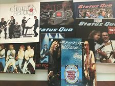 More details for status quo 7 different  tours official concert programmes 1997-98