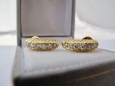 Studs/Earrings with 0,90 CT Diamonds 750/18KARAT Gold