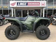 2017 Honda Ex-Demo TRX500FM6 Agricultural Road Legal Quad Bike