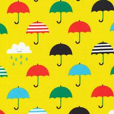 Cloud 9-Cantando sotto la pioggia-Organic laminata in tela cerata di cotone-Per Mezzo Metro