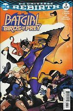 Batgirl and the Birds of Prey No.3 / 2016 DC Universe Rebirth
