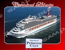 Bahamas - PRINCESS CAYS - Carnival LIBERTY - Flexible Fridge Magnet