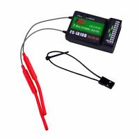 Flysky FS-iA10B Receiver 2.4G 10CH PPM Output Compatible for FS-i6X Transmitter