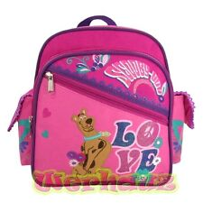 """Scooby Doo 10"""" Backpack Toddler Girls Pink, NEW"""
