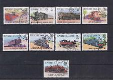 """toller Motiv - Satz Togo """" Lokomotiven """" Mich. Nr. 1807-15"""