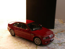 KYOSHO BWM M3 COUPÉ ROT ART. 80430009758 BWM - DEALER- VERSION  1:18  NEW