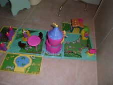 Little Tikes Rapunzel Lovely Locks Playset Figures, furniture,tower,cottage,+