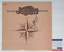JIMMY BUFFETT SIGNED CHANGES IN LATITUDES / ATTITUDES MARGARITAVILLE RECORD PSA