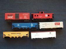 Ho model railroad cars - M.D.T & Swift refrigerator, New Haven, Bm, Mkik 750 etc