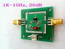 New LNA 1KHZ-1GHZ 20dB Noise RF wideband amplifier Module HF VHF / UHF