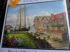"New 300 Piece Nicky Bochme: Art Puzzle ""Marine Ship"" Large Format 18""x24"""