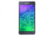 Étuis, housses et coques noirs Samsung Galaxy Alpha pour téléphone mobile et assistant personnel (PDA)
