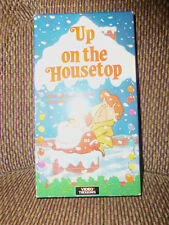UP ON THE HOUSE TOP VHS RARE  ANIMATED CHRISTMAS STORY TESTED WORKS GREAT