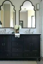 """NEW French Restoration Farmhouse  41"""" H  Bronze Gold ARCHED WALL MIRROR Vanity"""