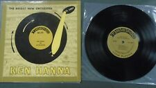 "NM! Ken Hanna and His Bright New Orchestra Trend TL 1007 LP 10"" Record Vinyl"
