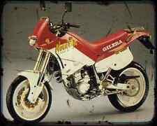 GILERA Nordwest 600 91 3 A4 Foto Impresión moto antigua añejada De