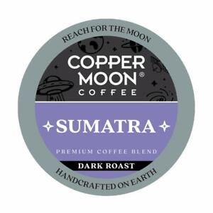 Copper Moon Sumatra Coffee 20 to 160 Keurig K cups Pick Any Size FREE SHIPPING