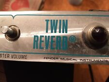 '70's SILVERFACE  Fender Twin Reverb CHASSIS ONLY. Good Working Condition.
