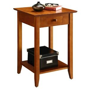 Convenience Concepts American Heritage End Table, Cherry - 7104077CH