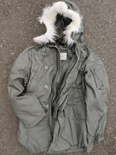 NEW US Army Military Extreme Cold Weather N-3B Parka Jacket Coat X-Small XS USGI