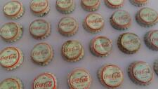 GREECE GREEK COCA COLA COKE LOT 24 LIDS KRONKORKEN BOTTLE CAPS 1970s Soft Drinks
