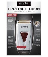 Andis ProFoil Lithium Battery Titanium Foil Shaver - Model 17150