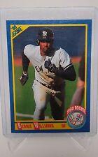 1990 Score Baseball Bernie Williams Rookie #619 NM