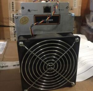 NEW Antminer D3 19.3 GH/s