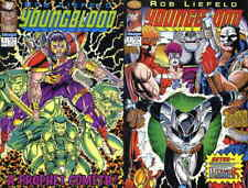 Youngblood #2A VF/NM; Image | 1st appearance of Prophet 1st print w/card green